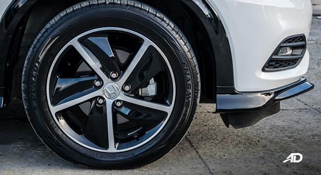 honda hr-v review road test wheel exterior philippines