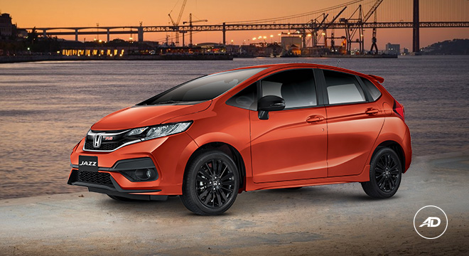 Honda Jazz 2018 orange
