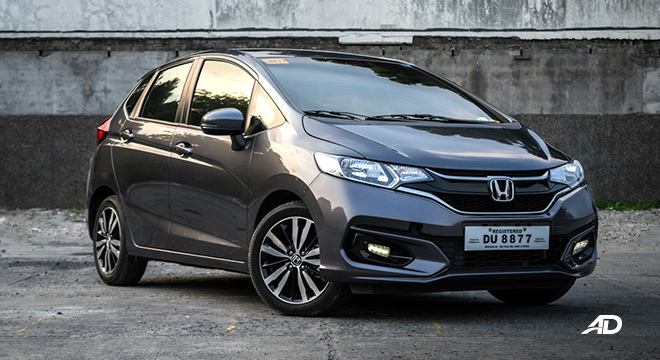 honda jazz road test exterior front philippines