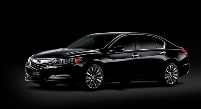 Honda Legend 2018 black