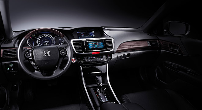 Honda New Accord 2018 dashboard