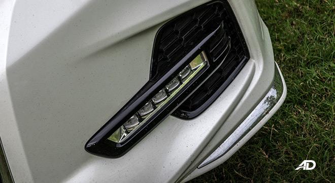 honda odyssey review road test led fog lamps exterior