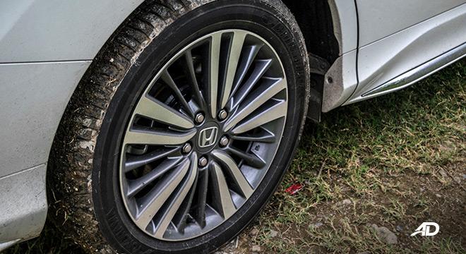 honda odyssey review road test wheels exterior