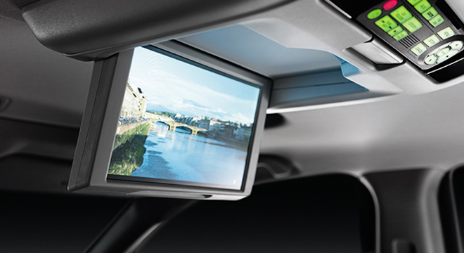 Honda Pilot 2018 roof-mounted monitor