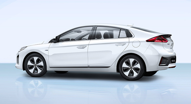 Hyundai Ioniq 2018 side