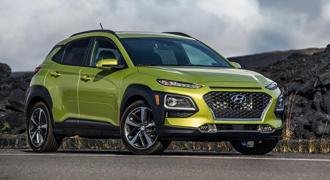 Hyundai Kona 2018 design
