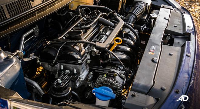 hyundai reina road test engine