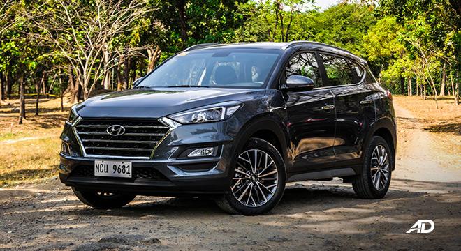 hyundai tucson review road test front quarter exterior philippines