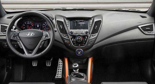 Hyundai Veloster 2018 dashboard