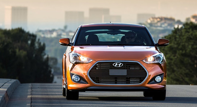 Hyundai Veloster 2018 front