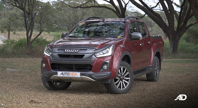 isuzu d-max review road test front quarter exterior philippines