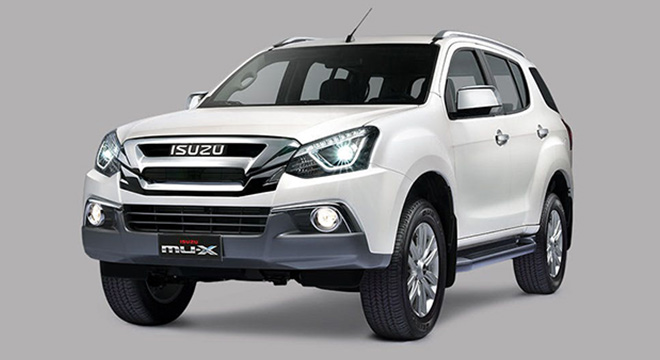 Isuzu mu-X 2018 brand new