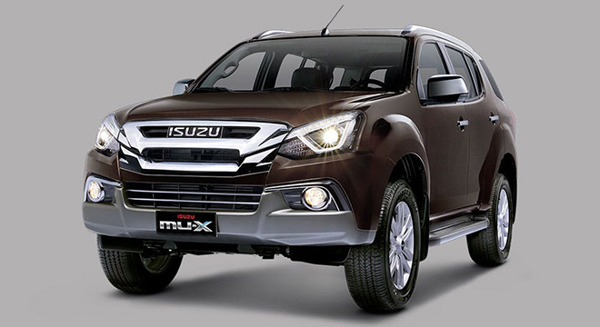 Isuzu mu-X 2018 brown