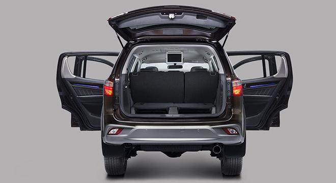 Isuzu mu-X 2018 trunk