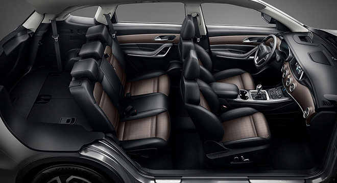 JAC S7 2018 interior