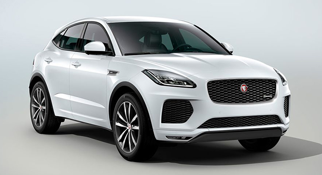 Jaguar E-Pace 2018 white