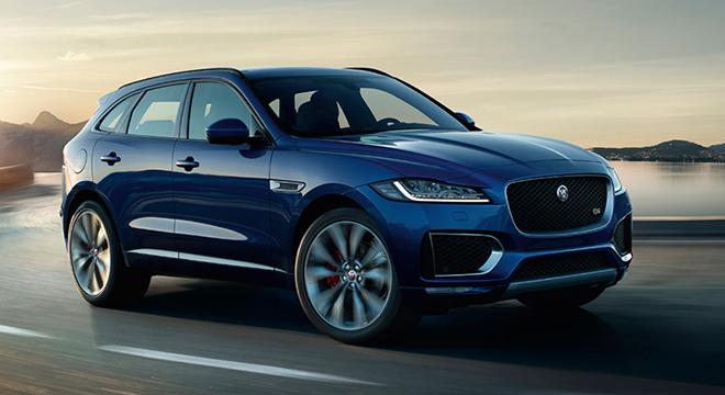 Jaguar F Pace 2018