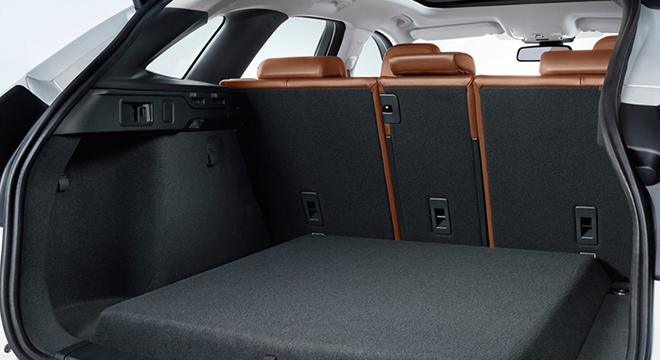 Jaguar F-Pace 2018 boot space