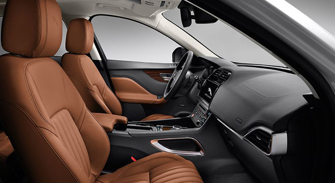 Jaguar F-Pace 2018 seats