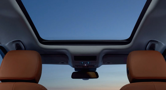 Jaguar F-Pace 2018 sunroof