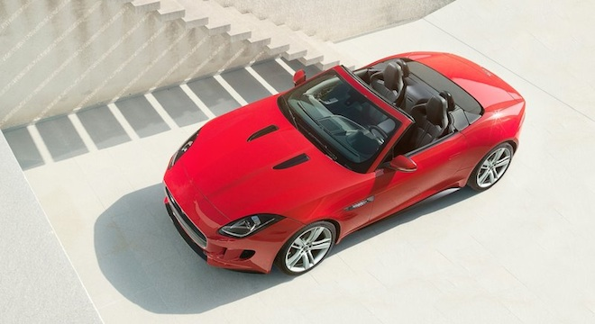 Jaguar F-Type Convertible 2018 Philippines red