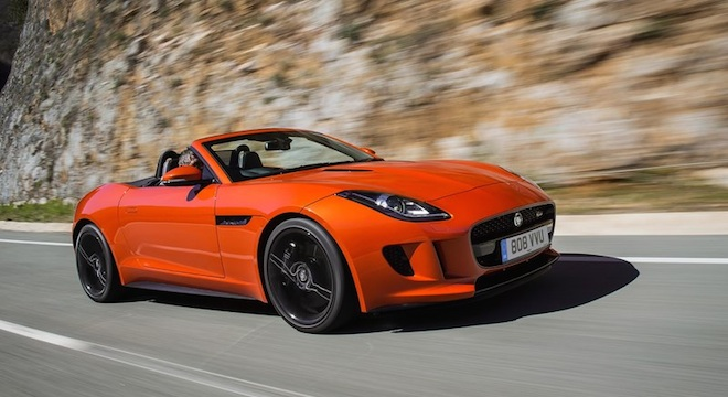 Jaguar F-Type Convertible 2018 Philippines sports car