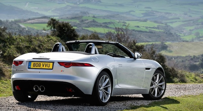 Jaguar F-Type Convertible 2018 Philippines white