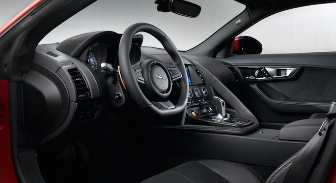 Jaguar F-Type Coupe 2018 Philippines interior