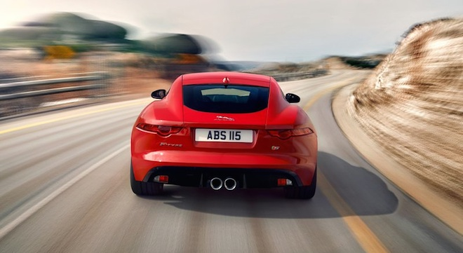 Jaguar F-Type Coupe 2018 Philippines rear