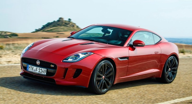 Jaguar F-Type Coupe 2018 Philippines red