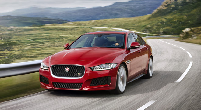 Jaguar XE 2018 Philippines red