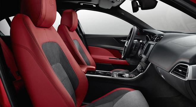 Jaguar XE 2018 Philippines seats