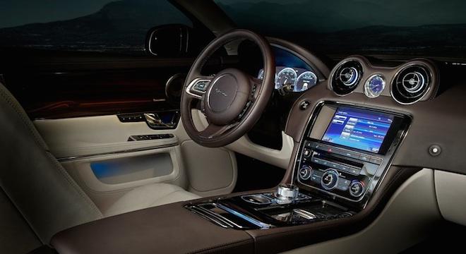 Jaguar XJ 2018 Philippines interior