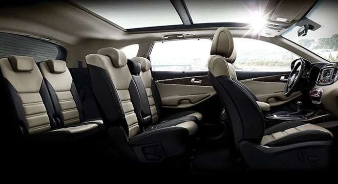 Kia All-New Sorento 2018 cabin