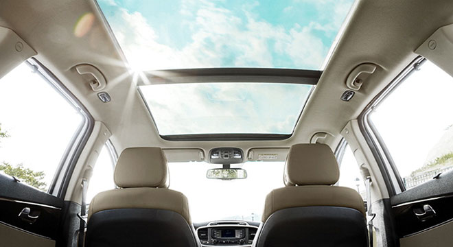 Kia All-New Sorento 2018 sunroof