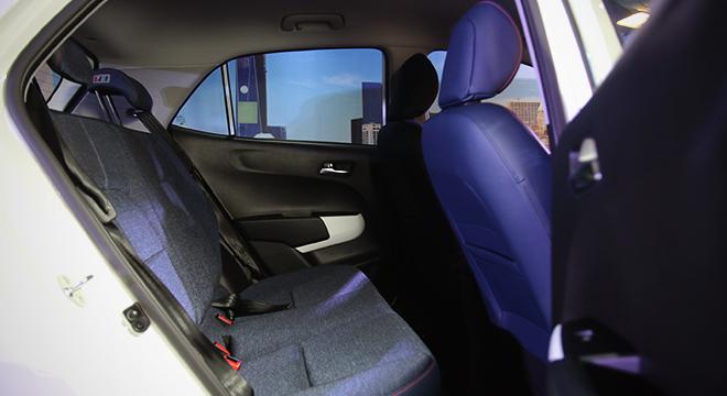 Kia Picanto 2018 rear seat