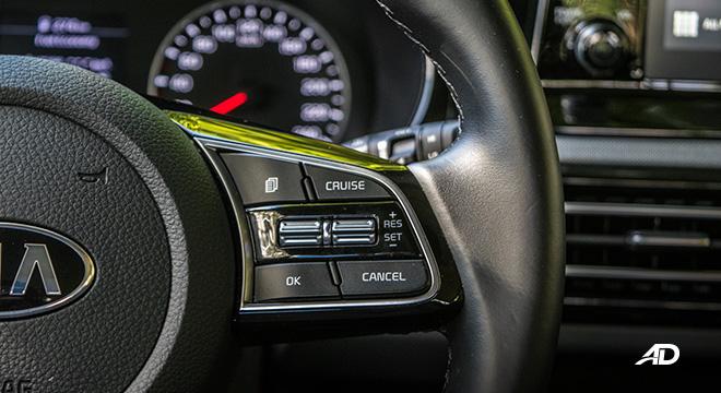 kia seltos review road test cruise control interior