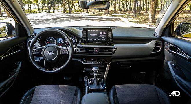 kia seltos review road test dashboard interior philippines