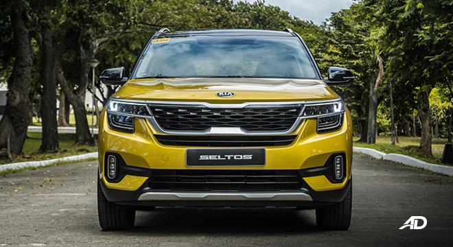 kia seltos review road test front exterior