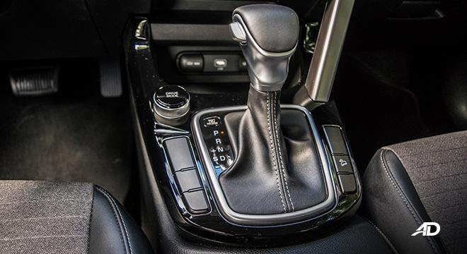 kia seltos review road test gear lever interior philippines