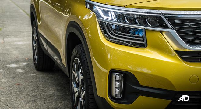 kia seltos review road test led headlights exterior philippines