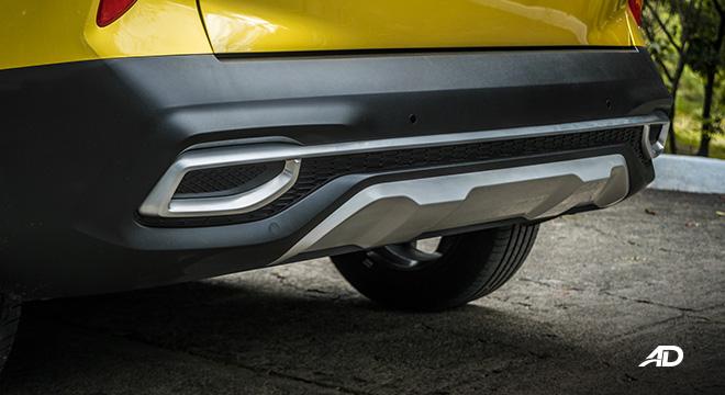 kia seltos review road test rear bumper exterior philippines