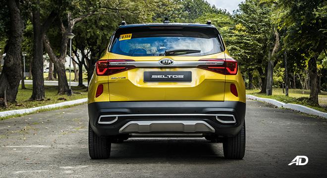 kia seltos review road test rear exterior