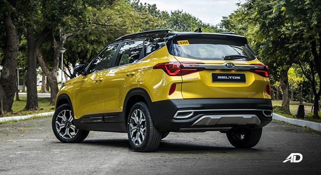kia seltos review road test rear quarter exterior philippines
