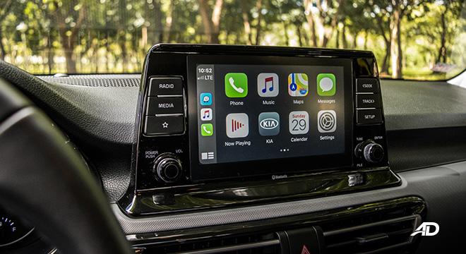 kia seltos review road test touchscreen infotainment interior
