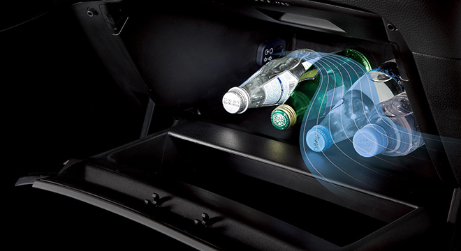 Kia Soul 2108 drink storage