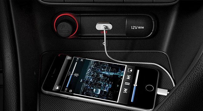 Kia Sportage Philippines USB Charging Port
