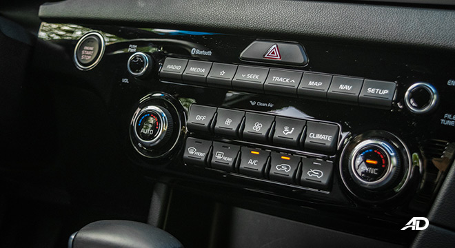 kia sportage review road test climate control interior philippines