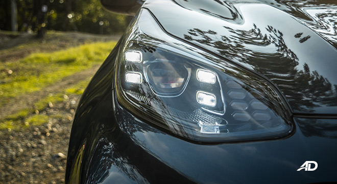 kia sportage review road test led headlights exterior philippines