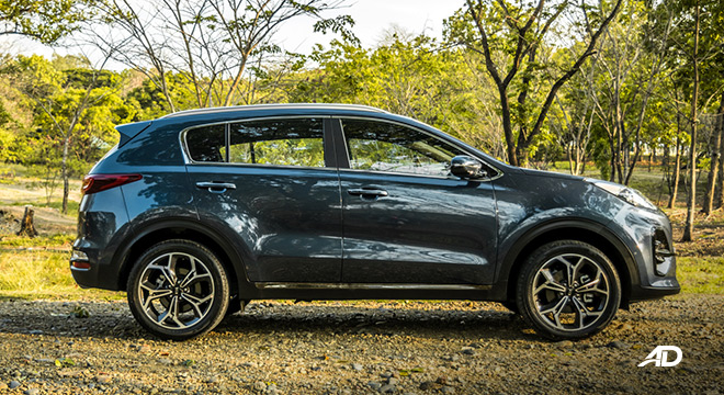 kia sportage review road test side exterior philippines